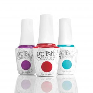 Gelish classic Gel manicure nail harmony uk